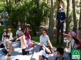 کارگاه جهتیابی برای کودکان مجموعه واله در پارک ملت- کانون جهتیابی طبیعت