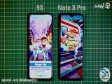 تست سرعت دو گوشی ردمی نوت 8 پرو با آنر ناین ایکس (Redmi Note 8 Pro vs Honor 9X)