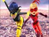ظاهر جدید لیدی باگ (دخترکفشدوزکی) و کویین بی (زنبور ملکه) :: میراکلس لیدی باگ