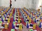 جهاد ادامه دارد-تهیه و توزیع سبد کالا به مناسبت عیدغدیر-مسجد جامع نظام مافی