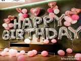 کلیپ تبریک تولد / تولدت مبارک عزیزدلم