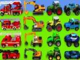 ماشین بازی کودکانه : بیل مکانیکی،کمپرسی،تراکتور،ماشین پلیس،کامیون آتش نشانی