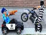 ماجراهای سنیا :: پلیس شدن سنیا و دزد ماشین
