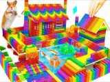توپ های مغناطیسی : ساخت خانه ویلایی بسیار زیبا دارای استخر