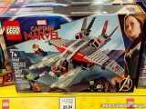 لگو سری Marvel مدل Captain Marvel and The Skrull Attack