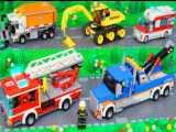 ماشین بازی کودکانه : آمبولانس،ماشین پلیس،ماشین آتش نشانی،قطار و بیل مکانیکی
