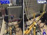 تریلر مقایسهای نسخهی PS4 با PS5 بازی SPIDER_MAN