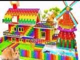 توپ های مغناطیسی :: ساخت خانه ویلایی عظیم دارای چرخ بادی و استخر