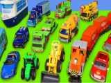 ماشین بازی کودکانه  : میکسر بتن،اتوبوس،آتش نشانی،قطار،جرثقیل،ماشین پلیس،تراکتور