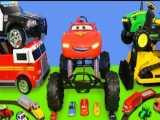 ماشین بازی کودکانه : اتومبیل،تراکتور،آتش نشانی،بیل مکانیکی،قطار و پلیس