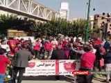تجمع هواداران پرسپولیس مقابل مجلس و شعار علیه وزیر و رسول پناه