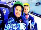 اسکیت و برف بازی در شهر دبی امارات | دیانا و روما (قسمت 182)