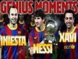بهترین های مسی و ژاوی  اینیستا (بارسلونا)