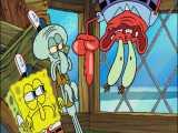 انیمیشن باب اسفنجی، خرچنگ دیوانه و باب اسفنجی