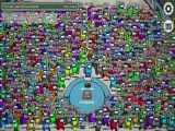 among us چی میشد اگه تو امانگ اس ۱۰۰۰ نفر و ۹۹ ایمپاستر بود !؟