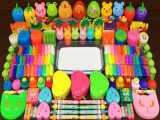 مخلوط کردن اسلایمهای رنگی - اکلیل و افزودنی