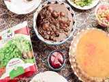 طرز تهیه خورشت قرمه سبزی ایرانی با سبزی قرمه منجمد نوبرسبز