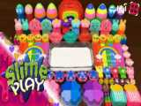 اسلایم های رنگی جدید - اسلایم بازی - اسلایم آرامش بخش
