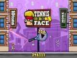 گیم پلی بازی(TENNIS IN THE FACE)،گیم پلی بازی تنیس
