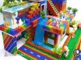 بازی با مگنتهای مغناطیسی ساختمان سازی 35