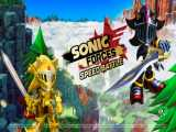 Sonic forces speed battle excalibur sonic and sir lancelot
