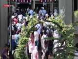 گزارش میدانی خبرگزاری تسنیم از انتخابات سوریه در شعبه اخذ رای دانشگاه دمشق