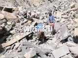 فروش سنگ ورقه ای فروش سنگ لاشه بدونی واسطه از معدن دماوند 09126718261 با قیمت