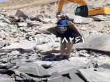 فروش سنگ مالون سنگ ورقه ای 09126718261 مستقیم از معدن دماوند بدونی واسطه فروش